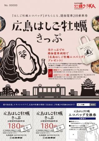 広島はしご牡蠣きっぷ