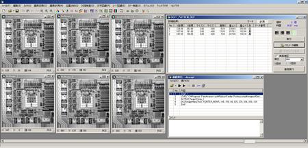 RobustFinder Suiteのアルゴリズム構築画面