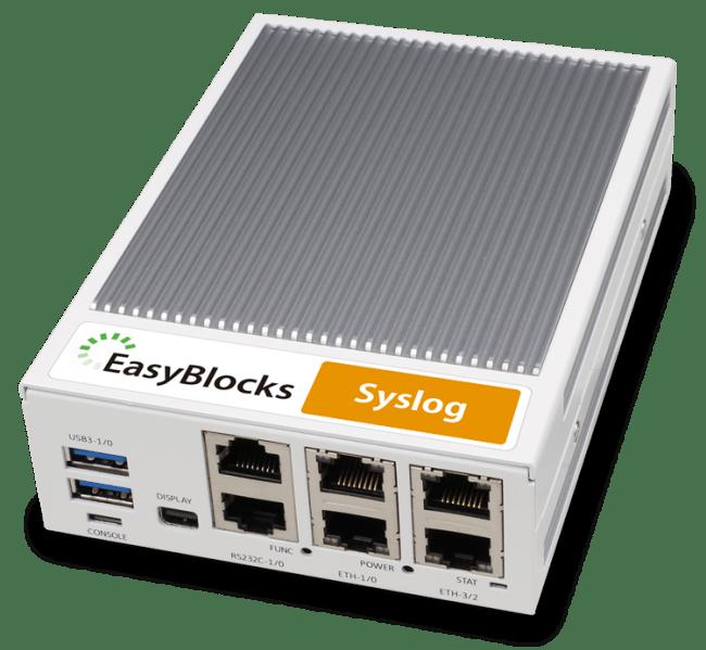 「EasyBlocks Syslog 240G・120G」 製品写真