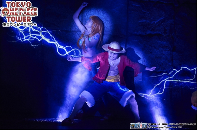 <「ONE PIECE LIVE ATTRACTION」前作・前々作の模様>