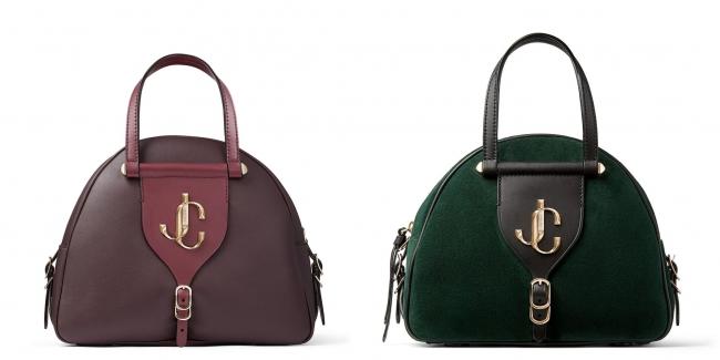 VARENNE BOWLING S (左)Bordeaux (右)Dark Green 194,000円 + 税