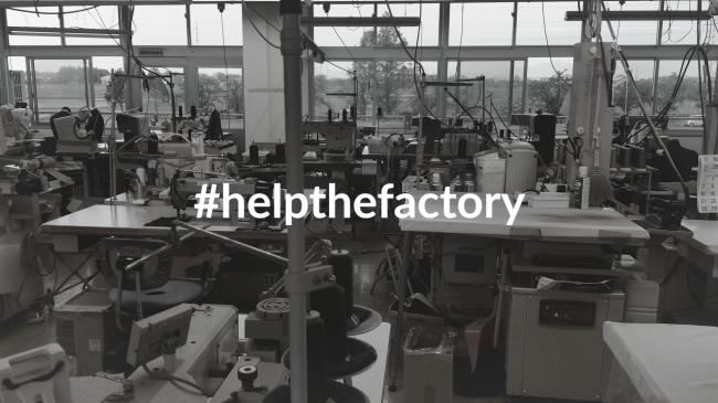 新型コロナウイルス で打撃をうける工場支援策「HELP THE FACTORY」を始動します