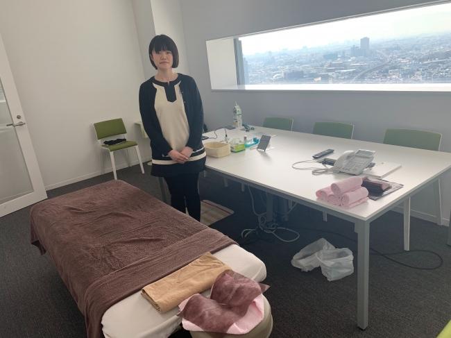 「カラダ(体)」 就業時間内にオフィスで受けられるリラクゼーション