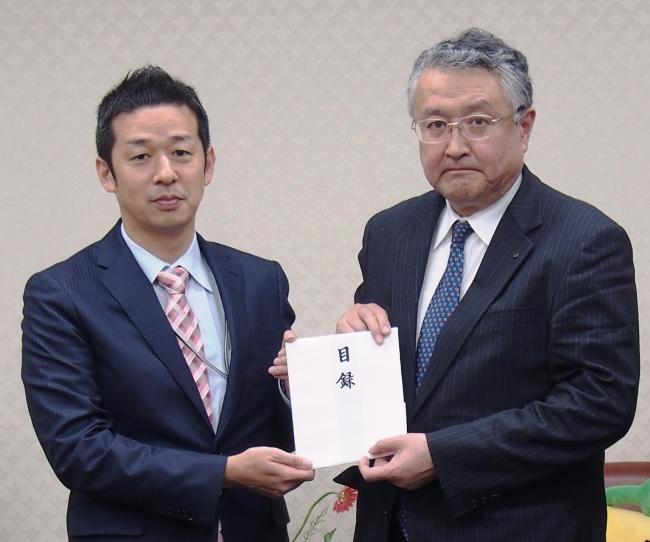 東日本大震災の復興支援として福...