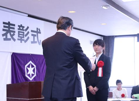 彦根スポーツ賞授賞式の様子