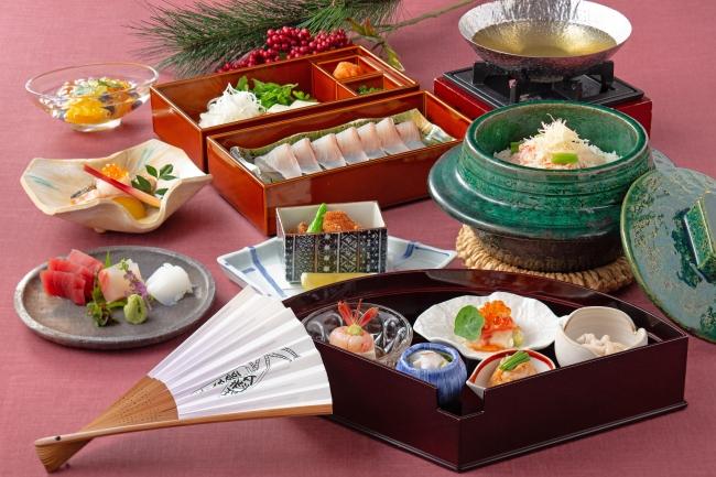 日本料理 歌留多『新潟沖 海の恵み会席』