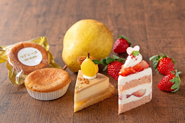 Sweets&Bakery 穂乃華 新潟フェア ケーキイメージ