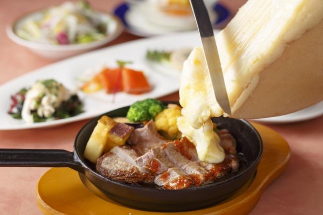 ラクレットチーズランチ(肉)イメージ
