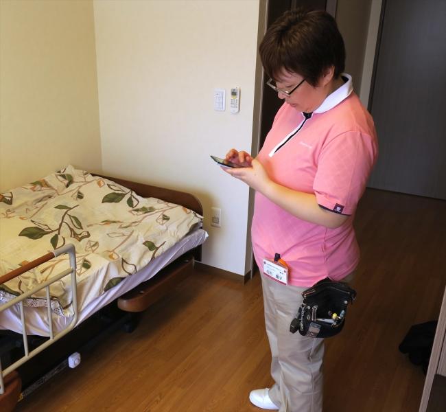 「居室見守り介護支援システム」のイメージ