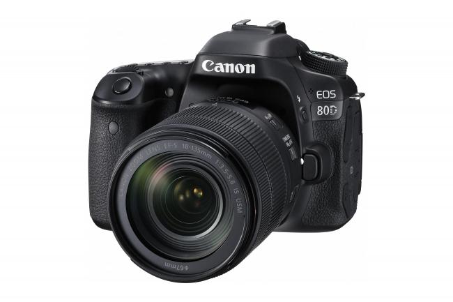 本格的な静止画撮影性能と動画撮影時における優れた操作性を備えた「EOS 80D」