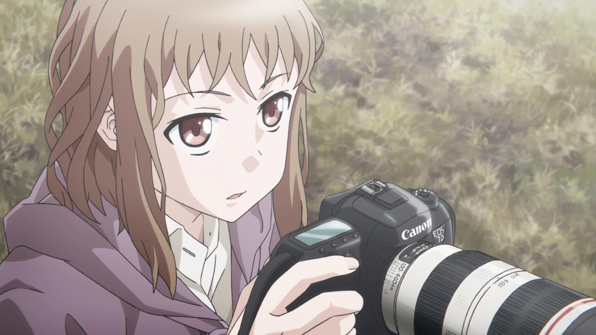 テレビアニメ Just Because にキヤノンが協力 キヤノン株式会社の