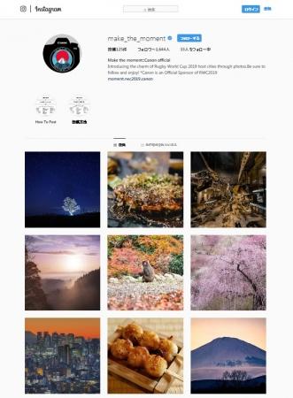 "Instagramアカウント ""make_the_moment"""