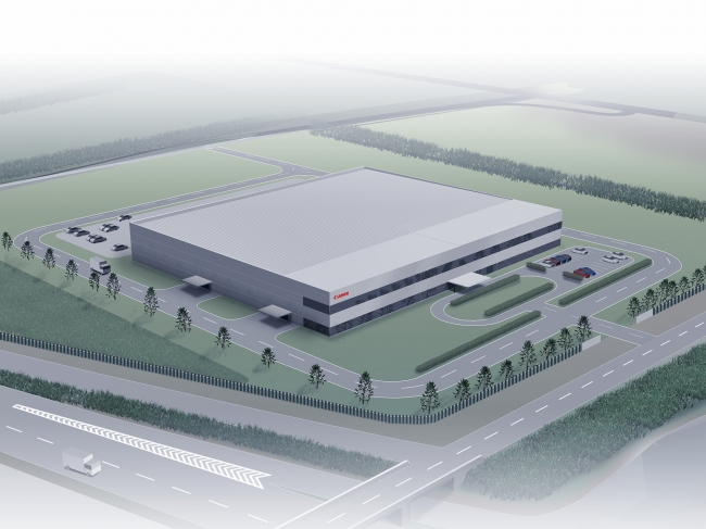 キヤノンモールド新工場(イメージ)