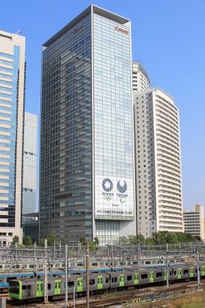 東京2020大会エンブレム装飾イメージ