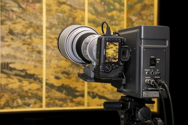 デジタルカメラによる文化財の撮影