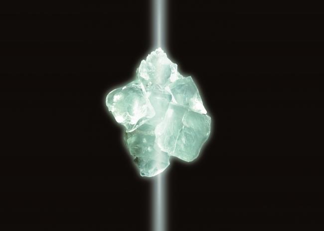 人工蛍石結晶