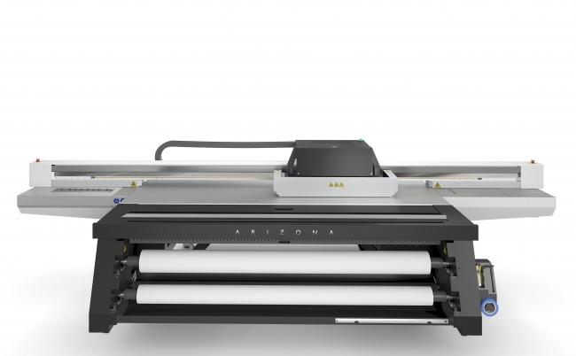 Arizona 1300 series(UV硬化型大判フラットベッドプリンター)*写真はArizona 1380GT 日本未発売