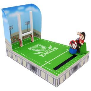 ラグビーゴールキックゲーム(キヤノンイーグルス)