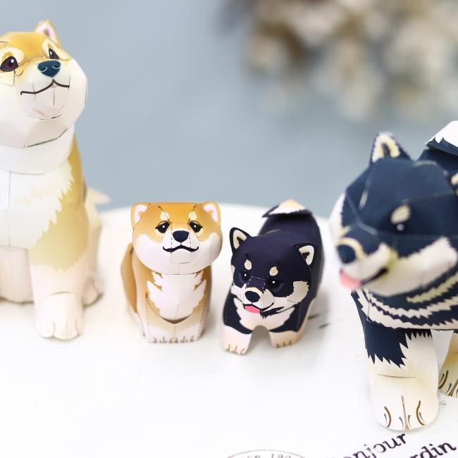 柴犬ミニ(茶・黒)