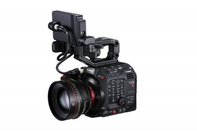 EOS C300 Mark III *「CN-E85mm T1.3 L F」装着時