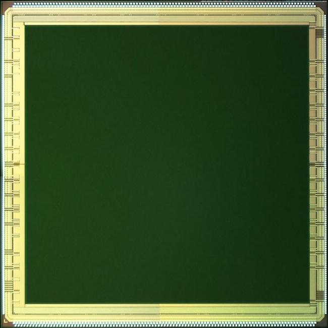 100万画素SPADイメージセンサー(プロトタイプ)