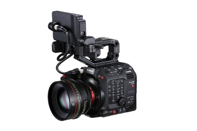 EOS C500 Mark II /EOS C300 Mark III(デジタルシネマカメラ)*写真はEOS C500 Mark II *CN-E85mm T1.3 L F装着時