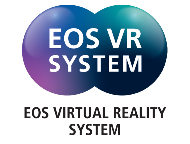 EOS VR SYSTEMロゴ