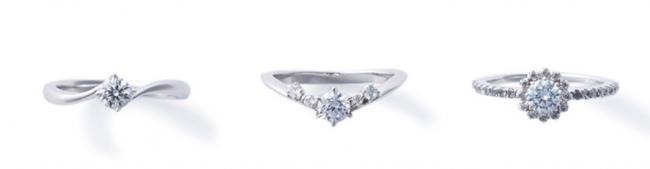 美しいダイヤモンドで仕上げる婚約指輪