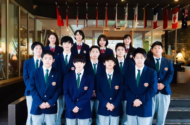 長野県白馬高校「観光科」の生徒さん