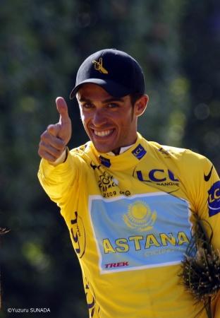 2009年ツール・ド・フランス総合優勝をしたアルベルト・コンタドール