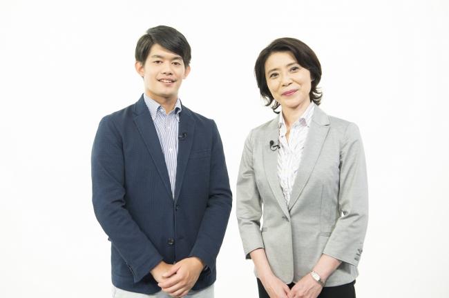 小塚崇彦さんと東野章子さん