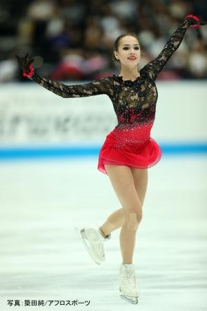 ロシア選手権連覇なるか? 世界女王アリーナ・ザギトワ