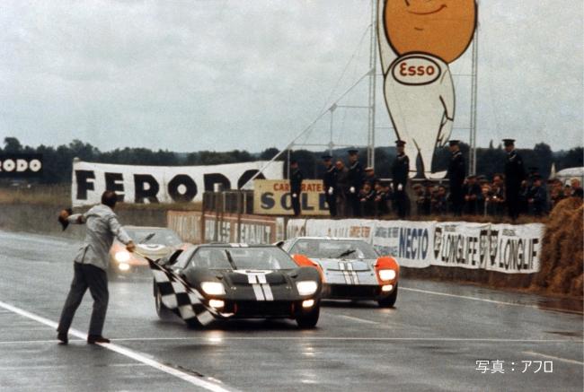 昨年映画化され、大きな話題を呼んだ1966年大会のフォードとフェラーリ 対決。熱戦が当時の貴重な映像で現代によみがえる。