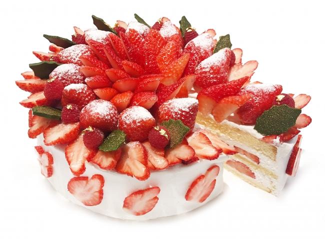 国産いちごのクリスマスショートケーキ