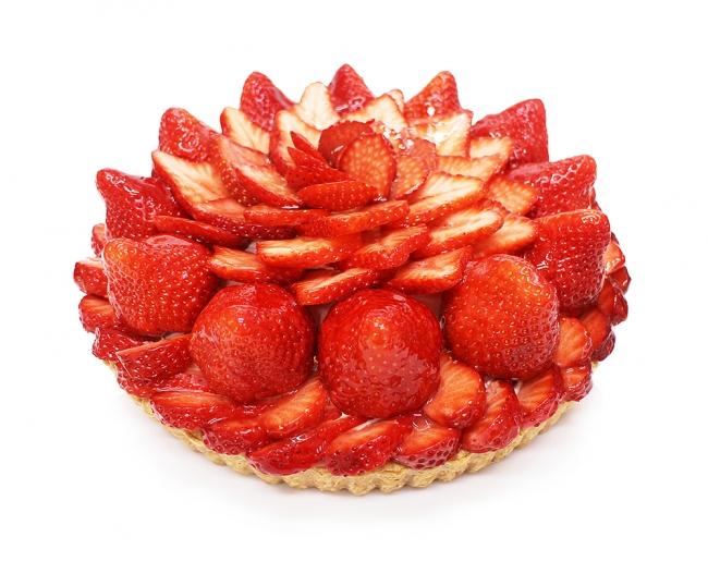 福岡県産「あまおう」いちごのケーキ