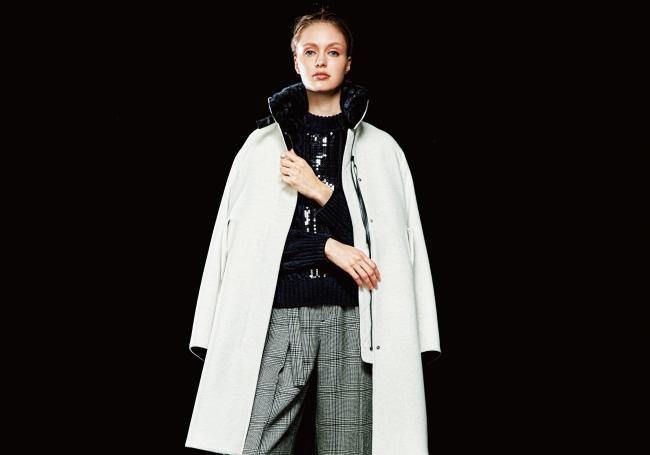 コート 74,800円(税込) カラー:スノー、ブラウン、ブラック