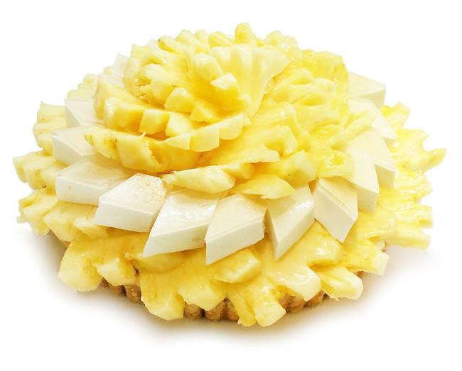 [京カフェコムサ]ゴールデンパインとはちみつヨーグルトムースのケーキ 750円(1ピース)