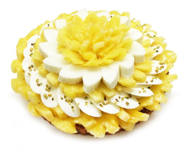 [船橋東武店]パイナップルとココナッツムースのケーキ 850円(1ピース)