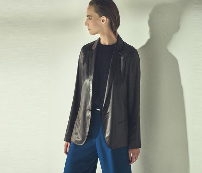ジャケット 37,400円(税込) カラー:ダークブラウン、ブラック