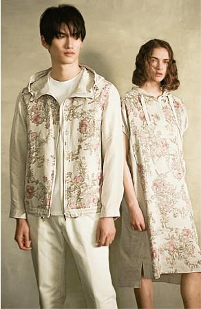 【ざくろ】(左)[アルチザン・メン]ブルゾン 97,900円 (右)[アルチザン]ドレス 59,400円(すべて税込)