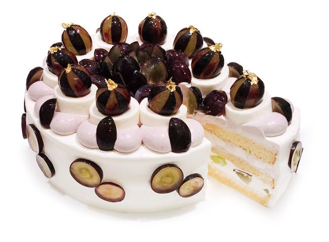 【ながの東急店】長野県産「ブラックビート」とミルクムースのショートケーキ
