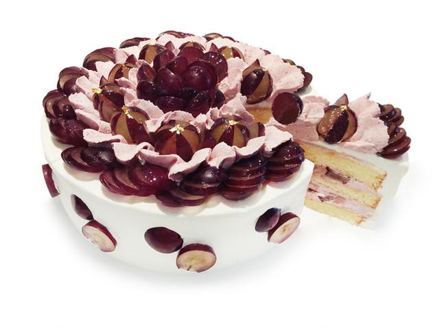 【星ヶ丘三越店】巨峰とグリオットクリームのショートケーキ