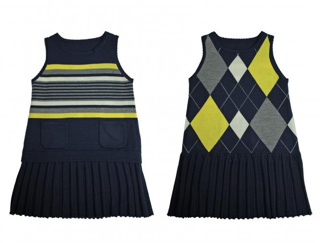 9月17日より発売 ドレス ¥17,280(110~130cm) 19,440(140~160cm) *税込