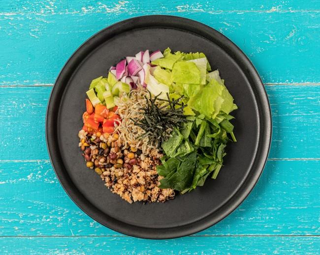 和風チョップドサラダ Japanese style chopped salad