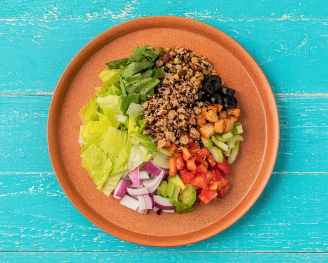 ビネガー五穀チョップドサラダ Vinegar five grains chopped salad