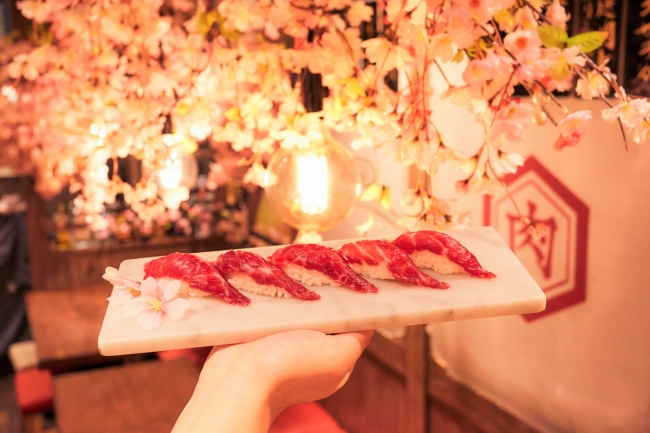 フォトジェニックな[桜祭り]