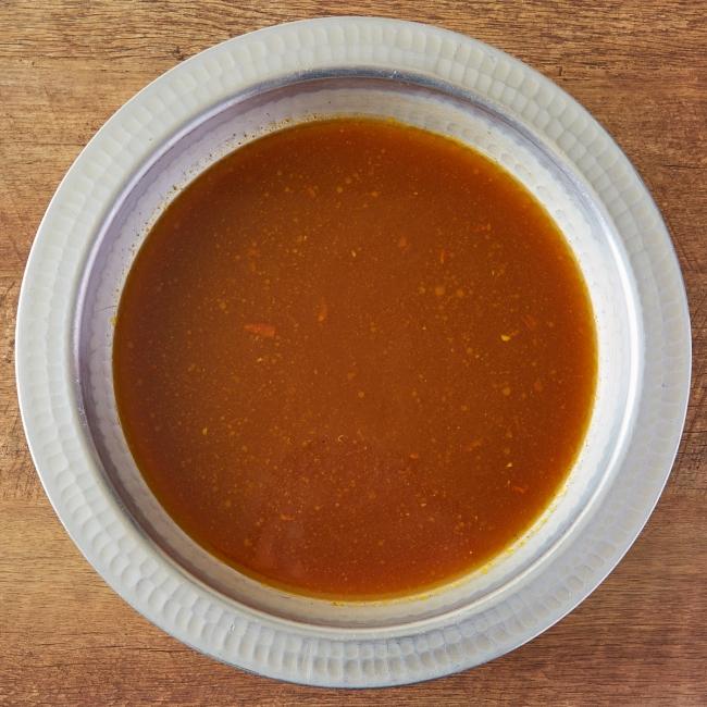 スパイシーカレースープ