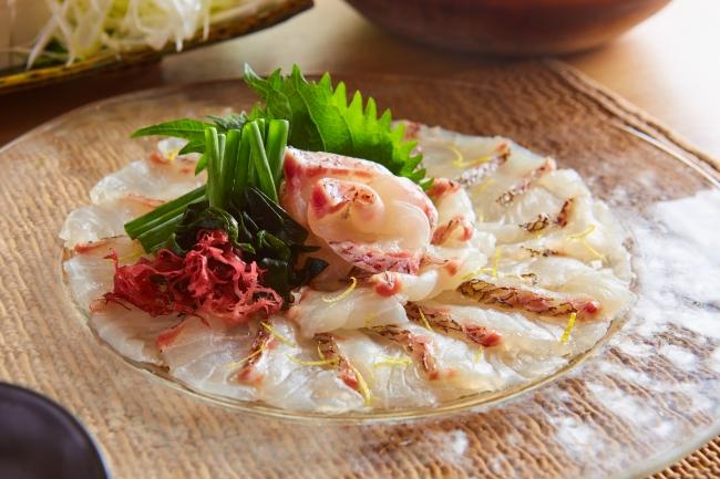 メインの鯛料理イメージ
