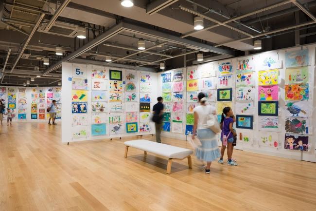 「横浜市こどもの美術展2015」(C)Ken KATO