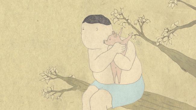 和田淳《わからないブタ》2010年